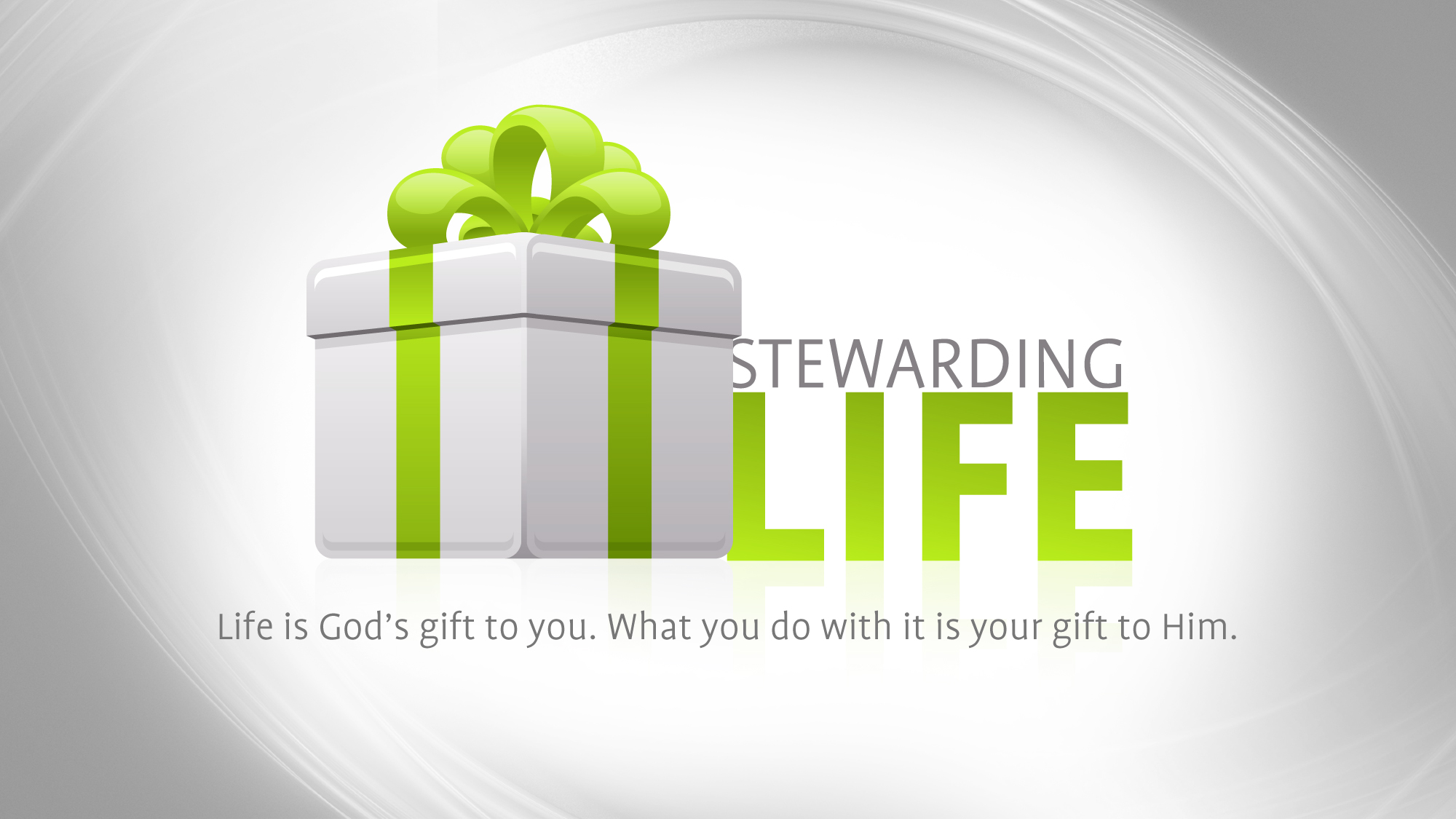 Stewarding Life | Ministry127: ministry127.com/free-resources/powerpoint/stewarding-life