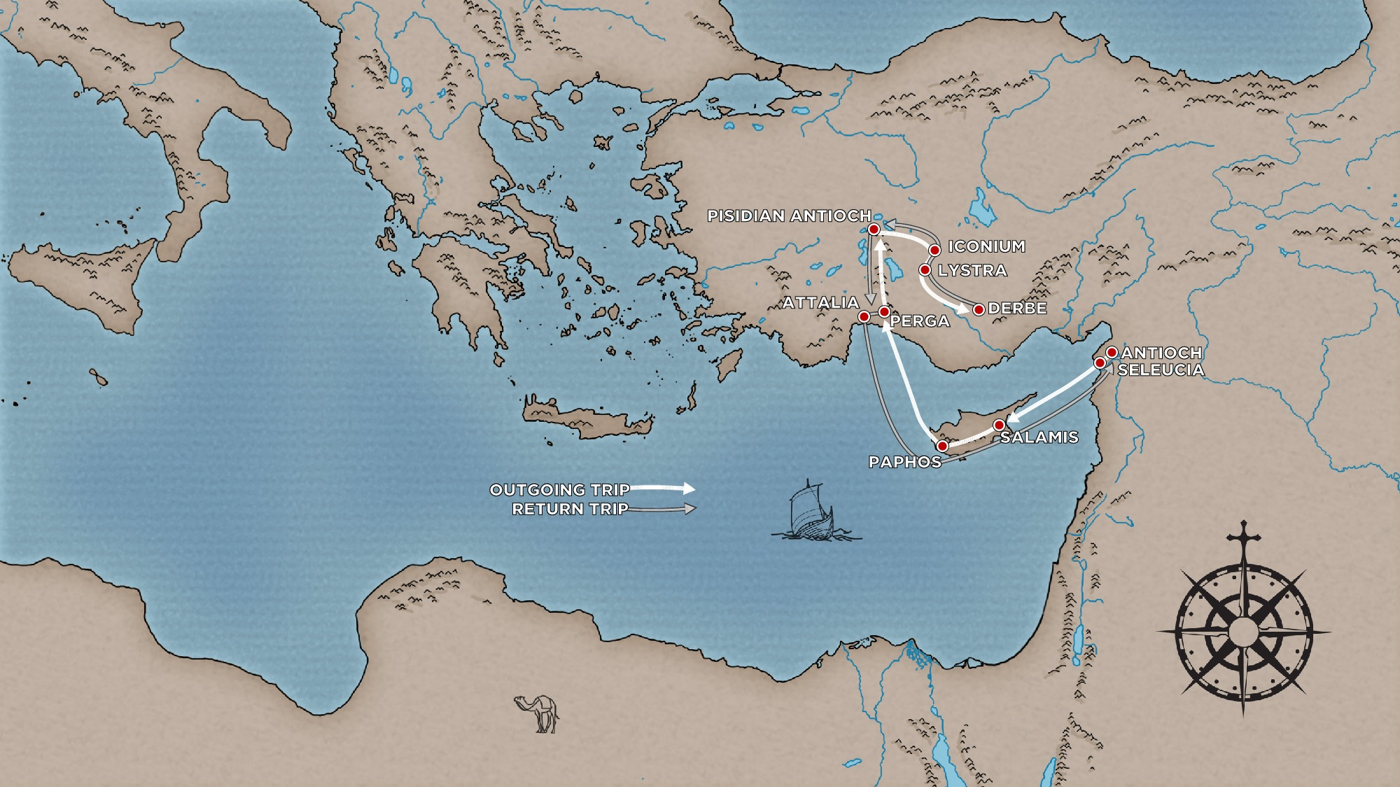 pauls first missionary journey essay Large map of apostle paul's first missionary journey pinterest find this pin and more on book of acts: acts of the apostles by below is an essay on death.
